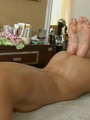 Her relaxed body accepts huge cock with great pleasure