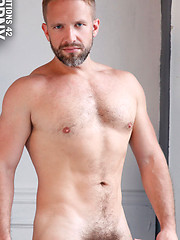 Dirk Caber and Phillip Aubrey in young-on-dad scene