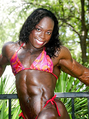 Black women muscle