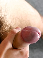 Sporty boy Luis masturbating his nice cock