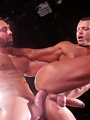 Two hot muscle gay studs Angelo Marconi and Fabio Stallone