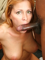 50 year old MILF is smokin\' hot and down for black cock!