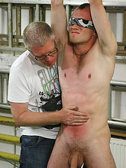 Kieron Knight takes a real hard whipping from older gay