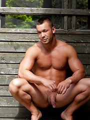 Hot muscle stud naked